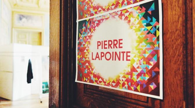 PIERRE LAPOINTE : interview gueule d'ange double face / concert au Théâtre du Rond Point le 30 novembre