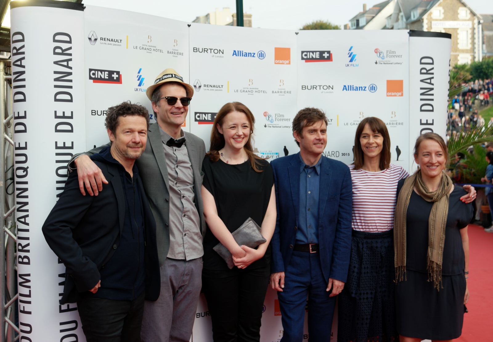 Équipe du film Couple in a Hole movie crew Tom Geens Paul Higgins Jérôme Kircher Kate Dickie golden Hitchcock d'or 2015 photo by usofparis