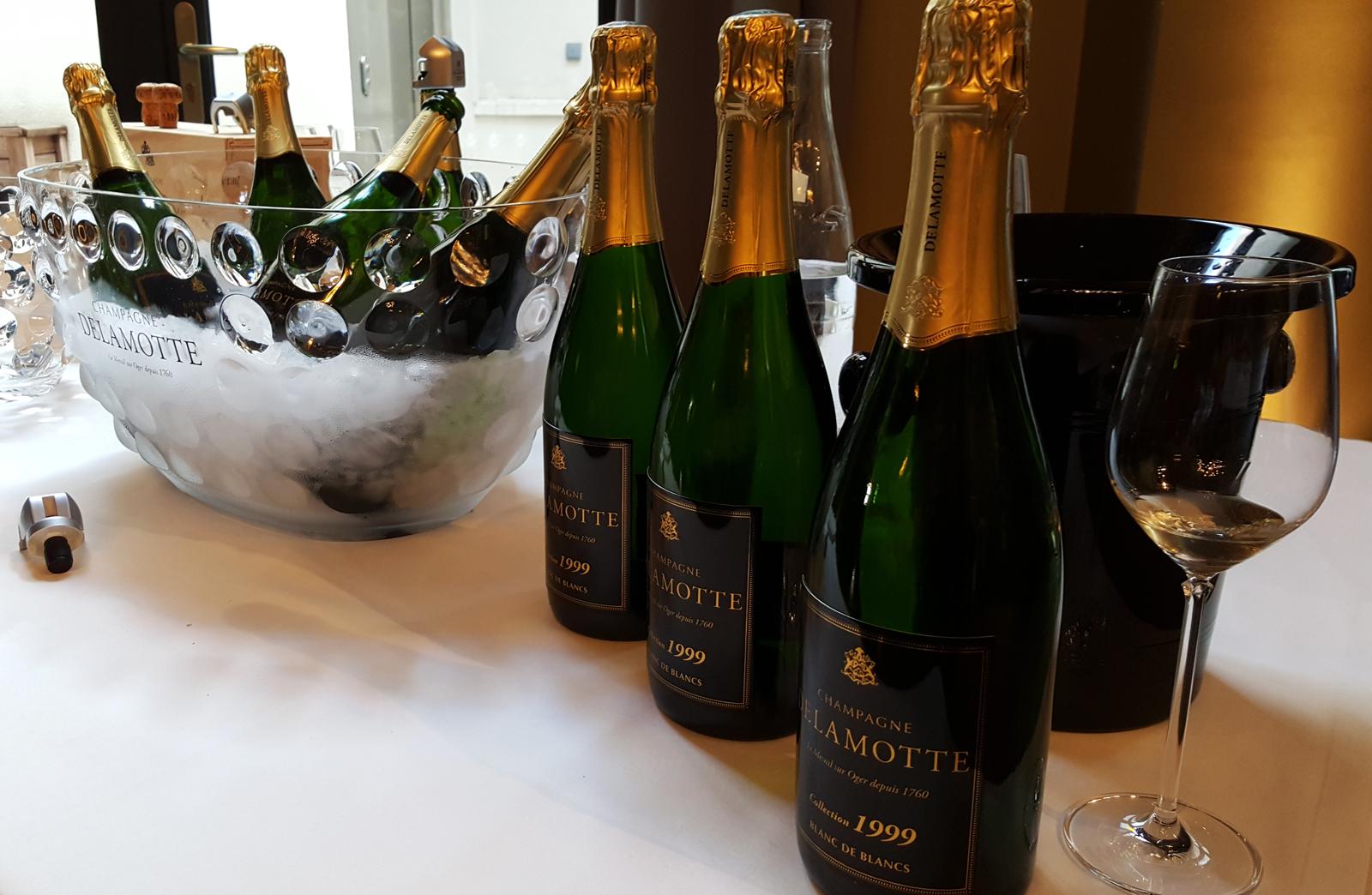 Champagne delamotte champagne salon cuv e collection for Salon vin paris