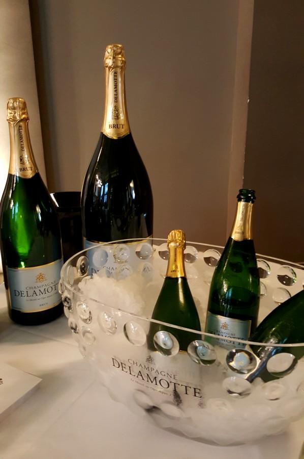 Champagne delamotte d couverte p tillante des crus for Salon gastronomie paris