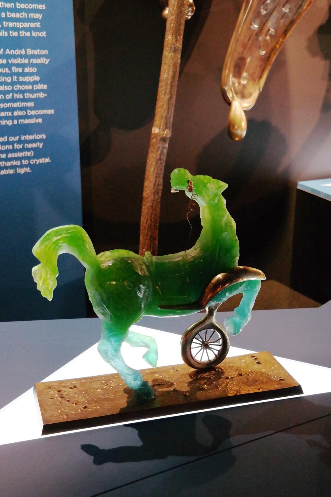 Débris d'une automobile, 1989, Salvador Dali