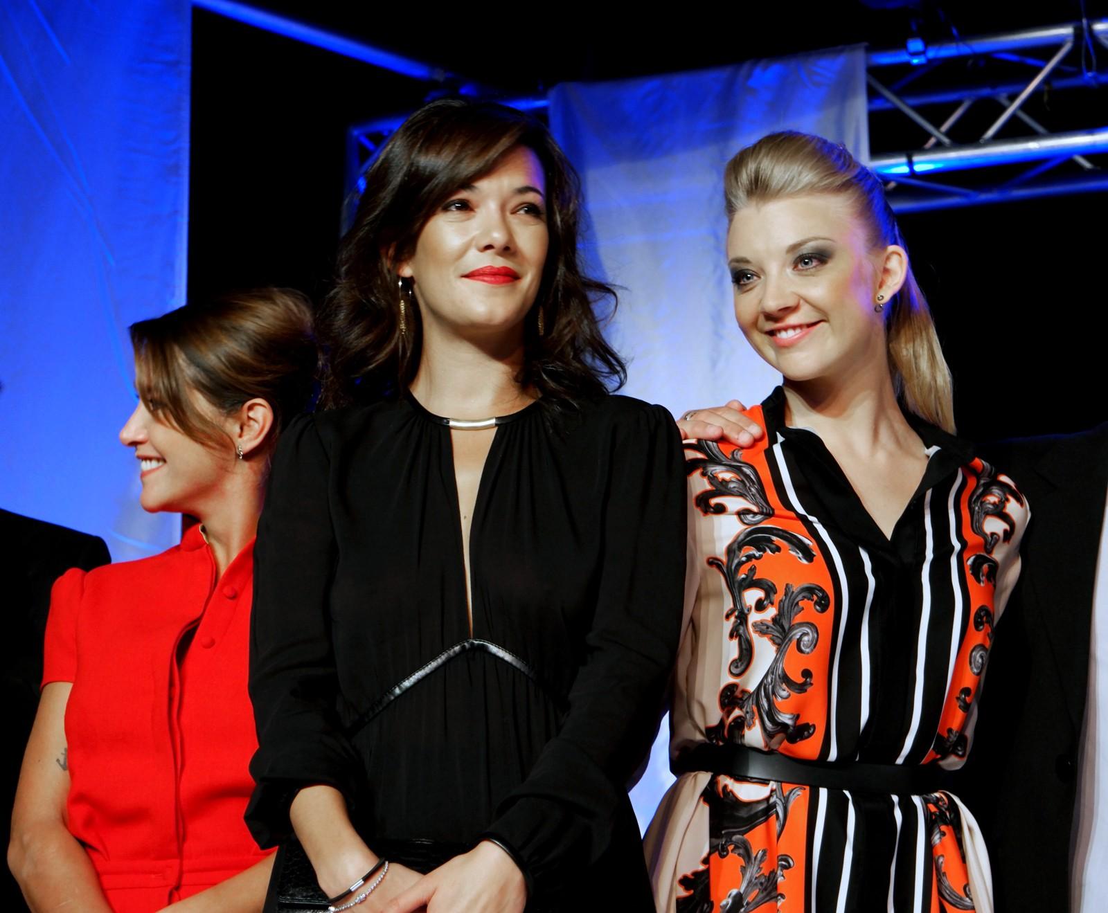 Emma de Caunes Mélanie Doutey Natalie Dormer Game of Thrones membres du jury du Festival du film Britannique de Dinard 2015 soirée ouverture photo usofparis