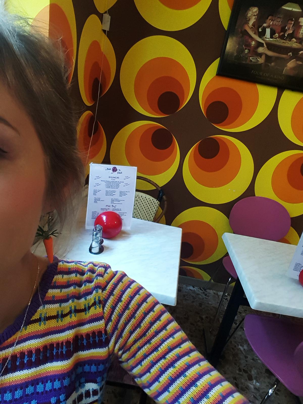 selfie original de GiedRé pour le blog !