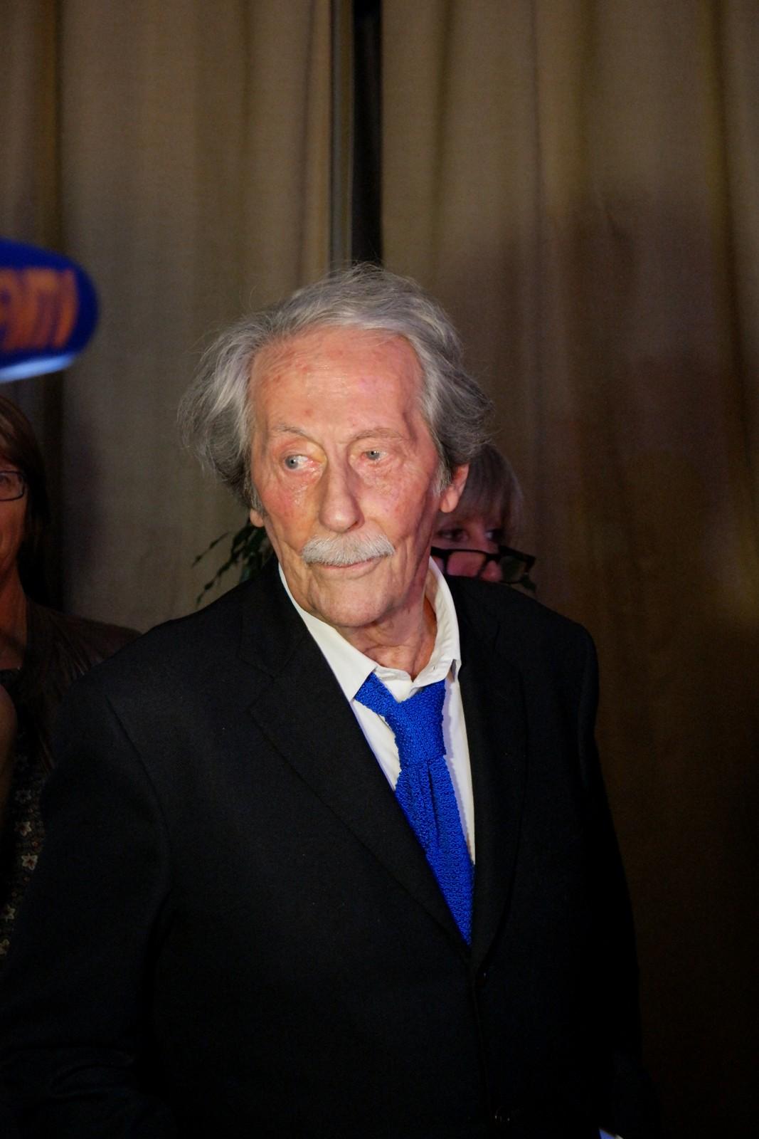 Le président du jury et acteur Jean Rochefort ouverture du Festival du Film Britannique de Dinard 2015 british film bretagne photo by usofparis s