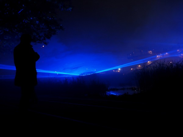 Nuit Blanche 2015 Paris programme Waterlicht Daan Roosegaarde art exposition Batignolles parcours photo by united States of Paris