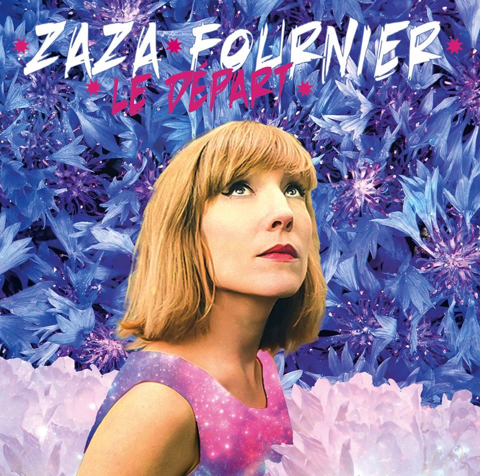 Zaza Fournier couverture album Le Départ Le Rat des Villes VeryRecords musique chanteuse