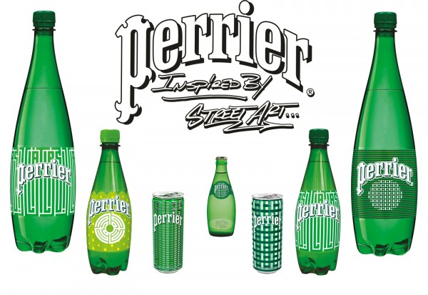 latlas artiste graffiti perrier inspired by street art edition limitee 2015 bouteille design photo by United States of Paris