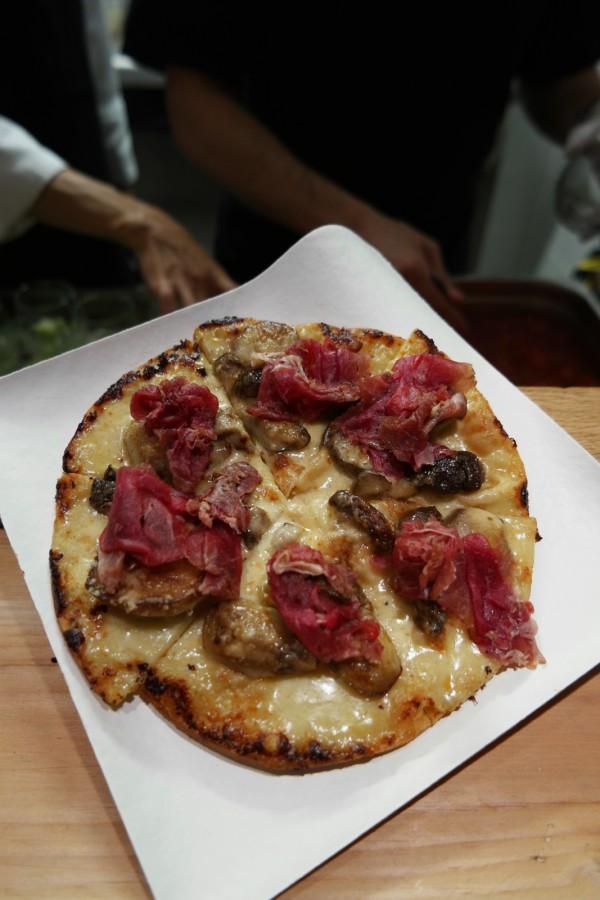 Botanique Restaurant new nouveau fine pizza cèpe entrecote oberkampf cuisine critique avis photo by United States of Paris