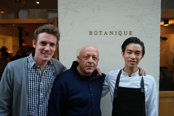 Botanique Restaurant new nouveau oberkampf ouverture Sugio Yamaguchi Alexandre Philippe Thierry Marx Botanique Restaurant
