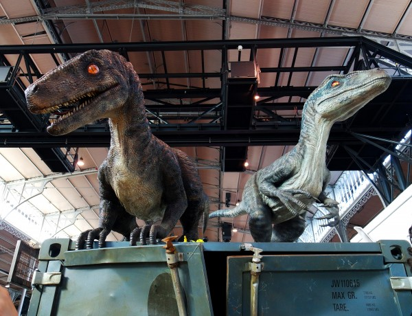 Comic Con Paris 2015 Jurassic park maquette fun best of Grande Halle de la villette Photo by United States of Paris