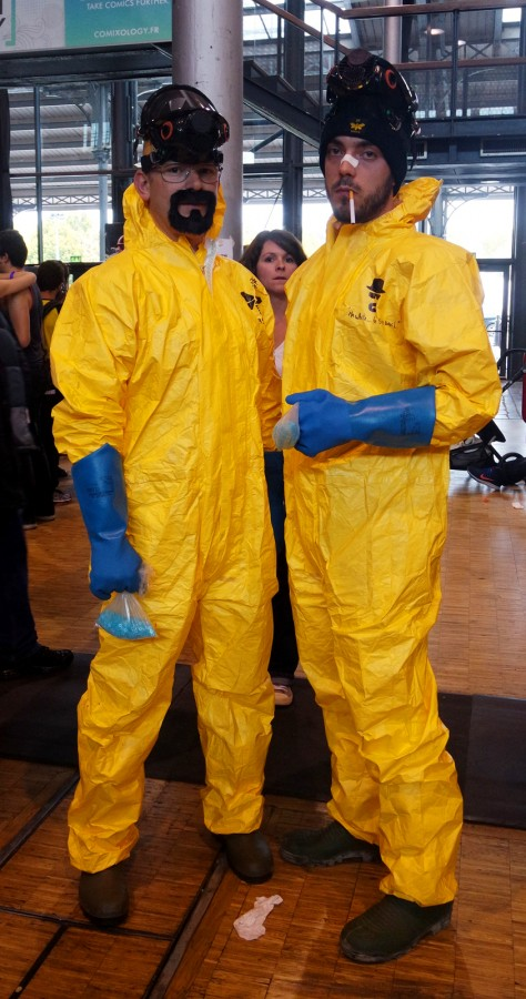 Comic Con Paris 2015 costume breaking bad heisenberg festival cosplay best of Grande Halle de la villette Photo by United States of Paris