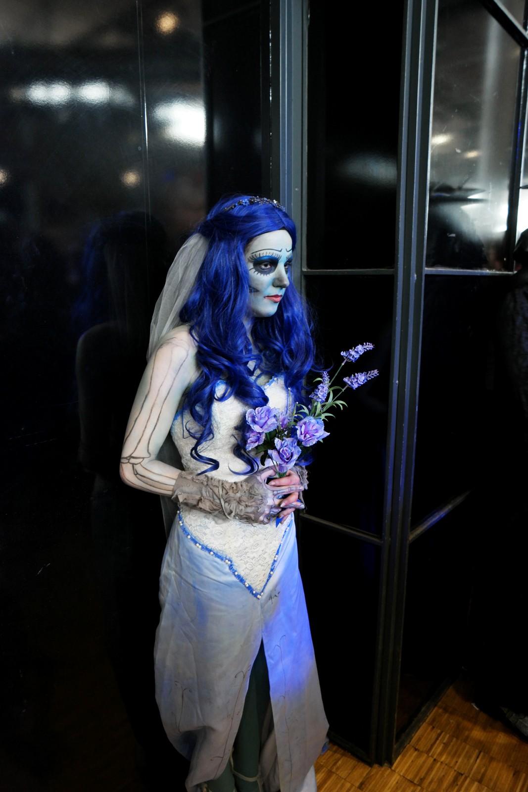 Emily, la mariée défunte du film Les Noces Funèbres