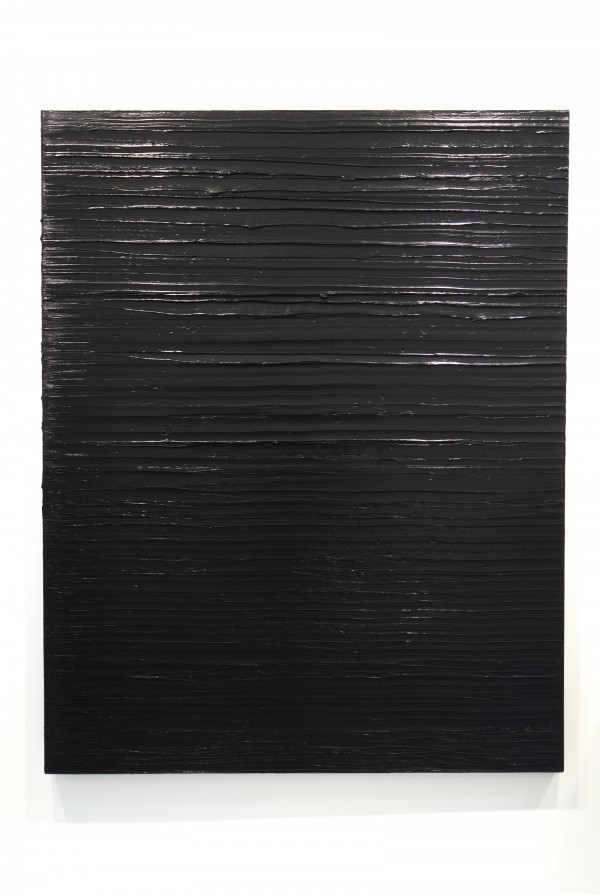 FIAC PARIS 2015 2015 Pierre Soulages Grand Palais Paris international contemporary art fair Photo by United States of Paris