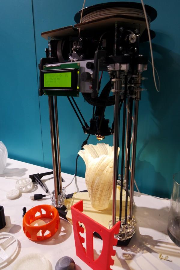Foire Automne 2015 Paris Decouverte Evenement Atelier Coaching DIY Impression 3D Leroy Merlin Photo By United