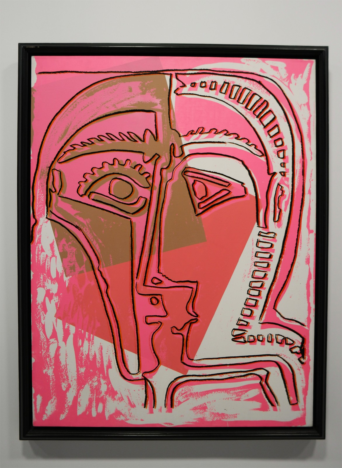 Head (after Picasso), 1985, Andy Warhol