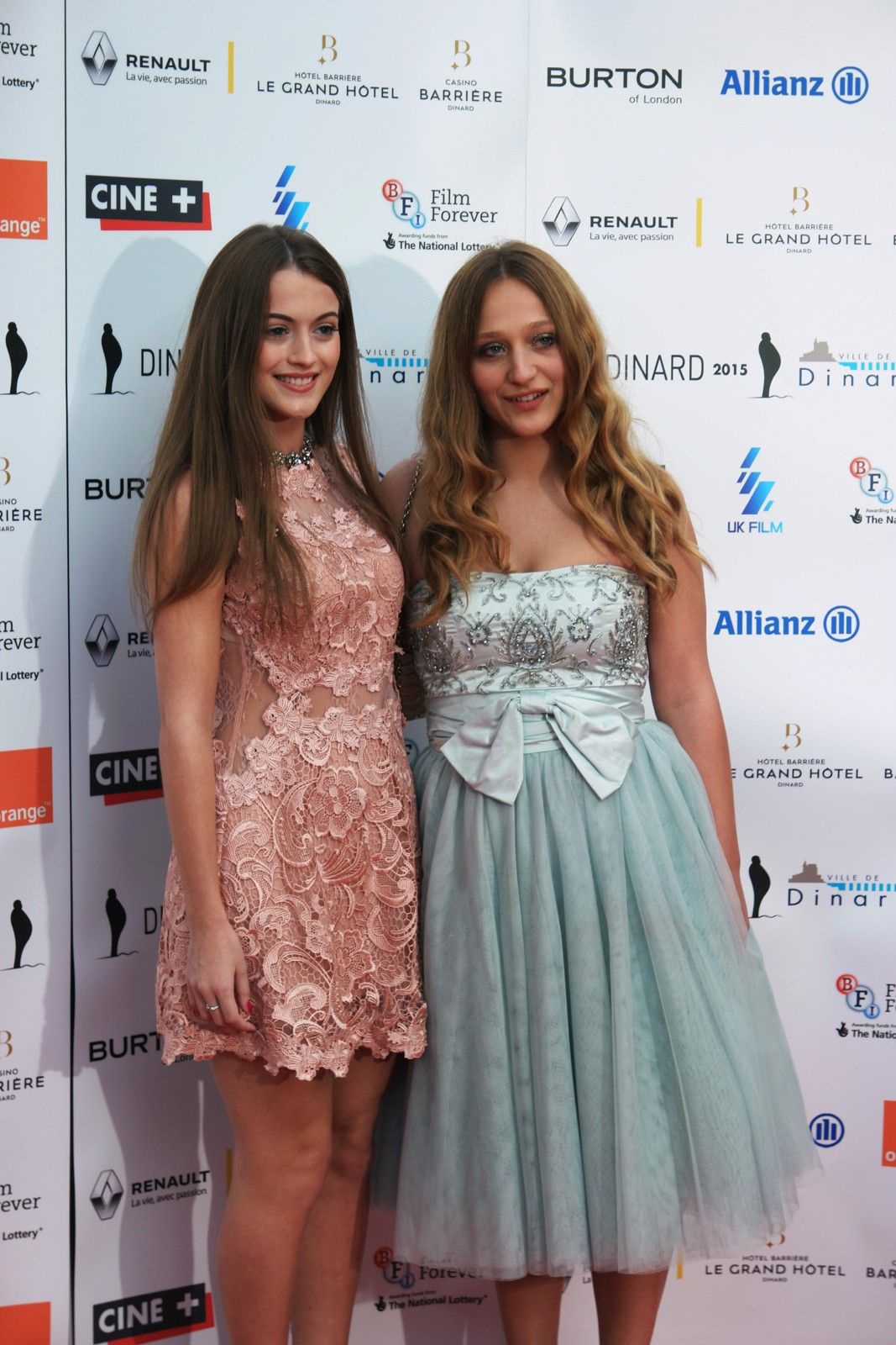 Lauren McQueen Brogan Ellis The Violators movie actress director Helen Walsh red carpet dinard british film festival oprining 2015 france competition photo by usofparis