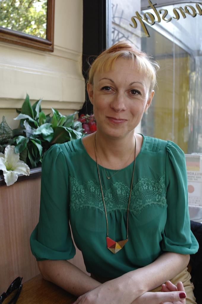 Phia Menard artiste metteuse en scène compagnie non nova interview pour united states of paris blog photo Joel Clergiot