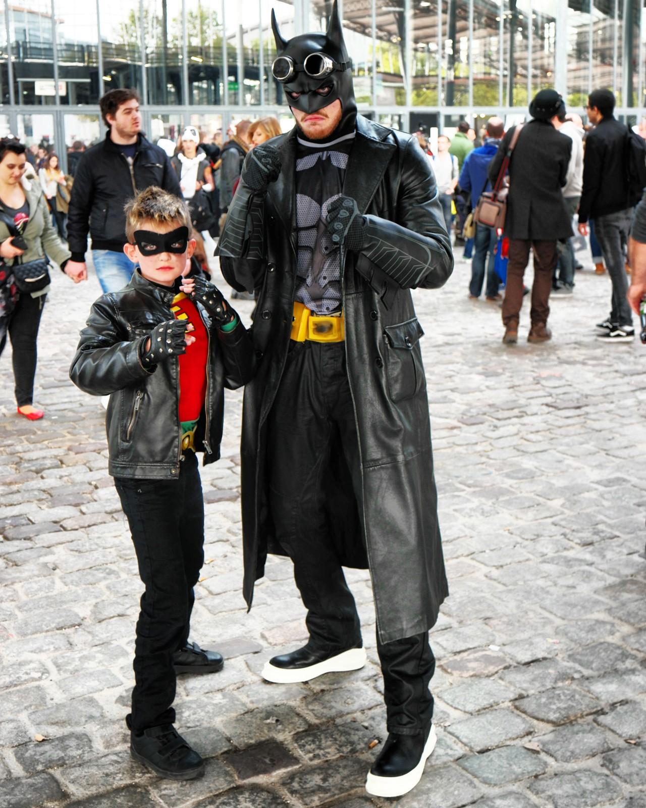 Super-héros de père en fils