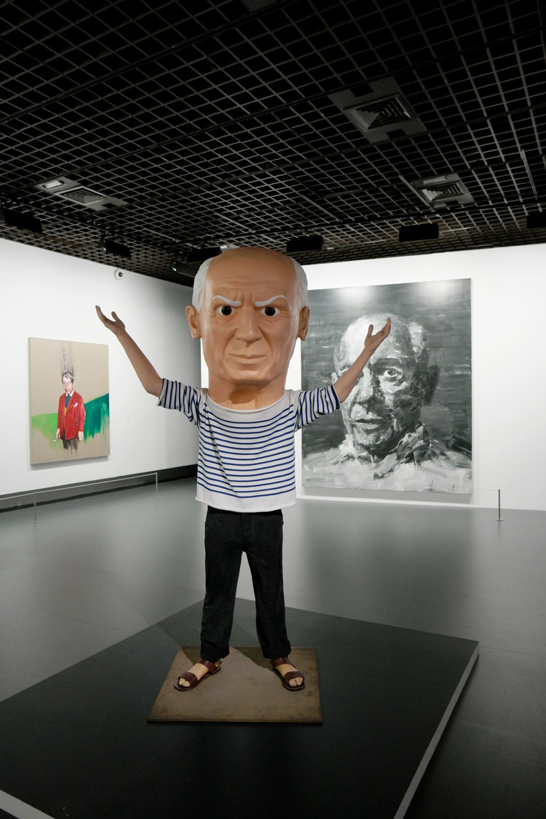 Untitled (Picasso), 2009, Maurizio Cattelan