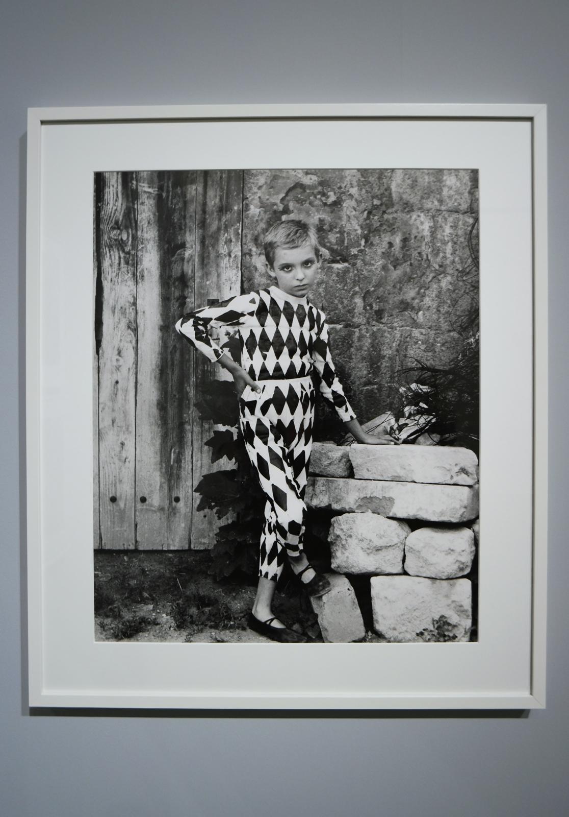 Arlequin, Arles, 1955, Atelier Lucien Clergue