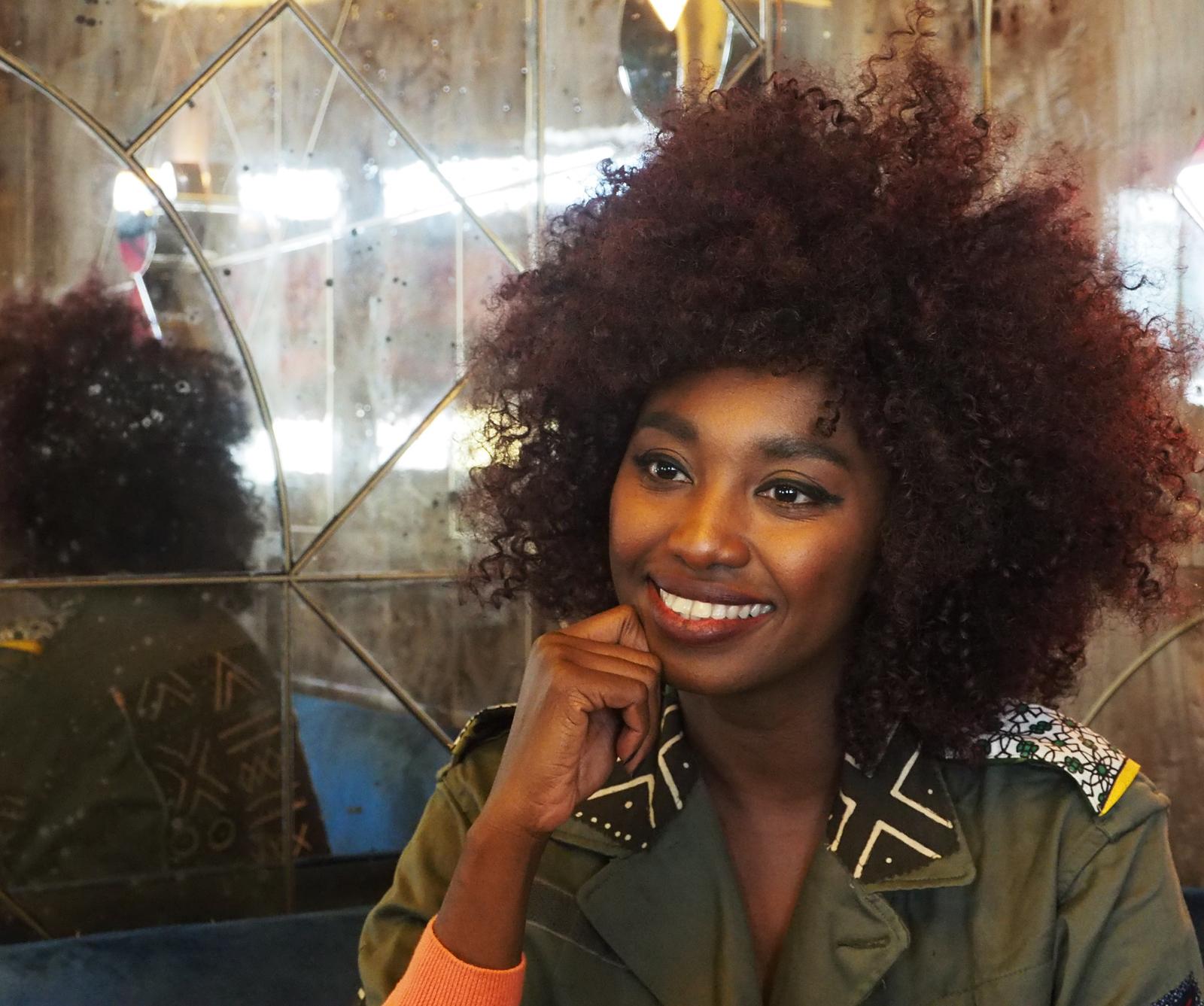 Inna Modja smile lookée nappy interview pour nouvel album Motel Bamako warner music 2015 photo originale united states of paris blog usofparis
