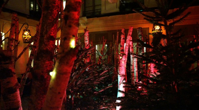 La Forêt Enchantée : la terrasse d'hiver avec fondue et saké au Buddha Bar Hôtel