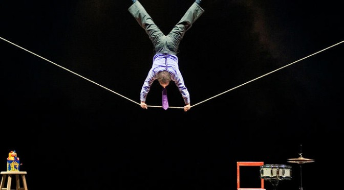 Circus Incognitus de Jamie Adkins aux Bouffes Parisiens : jubilatoire !