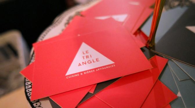 LE TRIANGLE Paris : restaurant vivifiant & microbrasserie inventive !