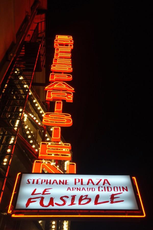 Le fusible Stéphane Plaza théâtre Bouffes parisiens avis critique comédie arnaud gidoin photo by blog United States of Paris