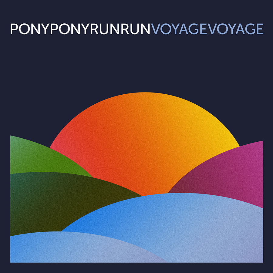 Pony Pony Run Run Voyage Voyage nouvel new album cover pochette Pias Le Label