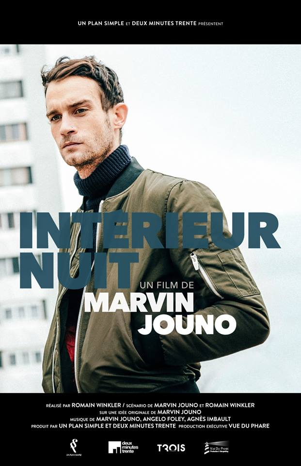 Affiche Intérieur Nuit un film de Marvin Jouno et Romain Winkler projection MK2 Grand Palais Paris Un Plan Simple Deux Minute Trente