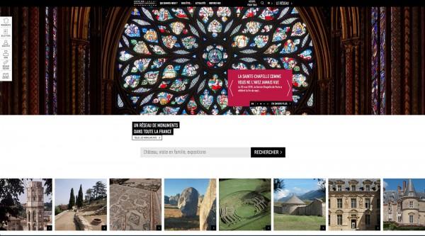 Centre des monuments nationaux CMN site web billetterie visite liste balade nouveauté Sainte Chapelle