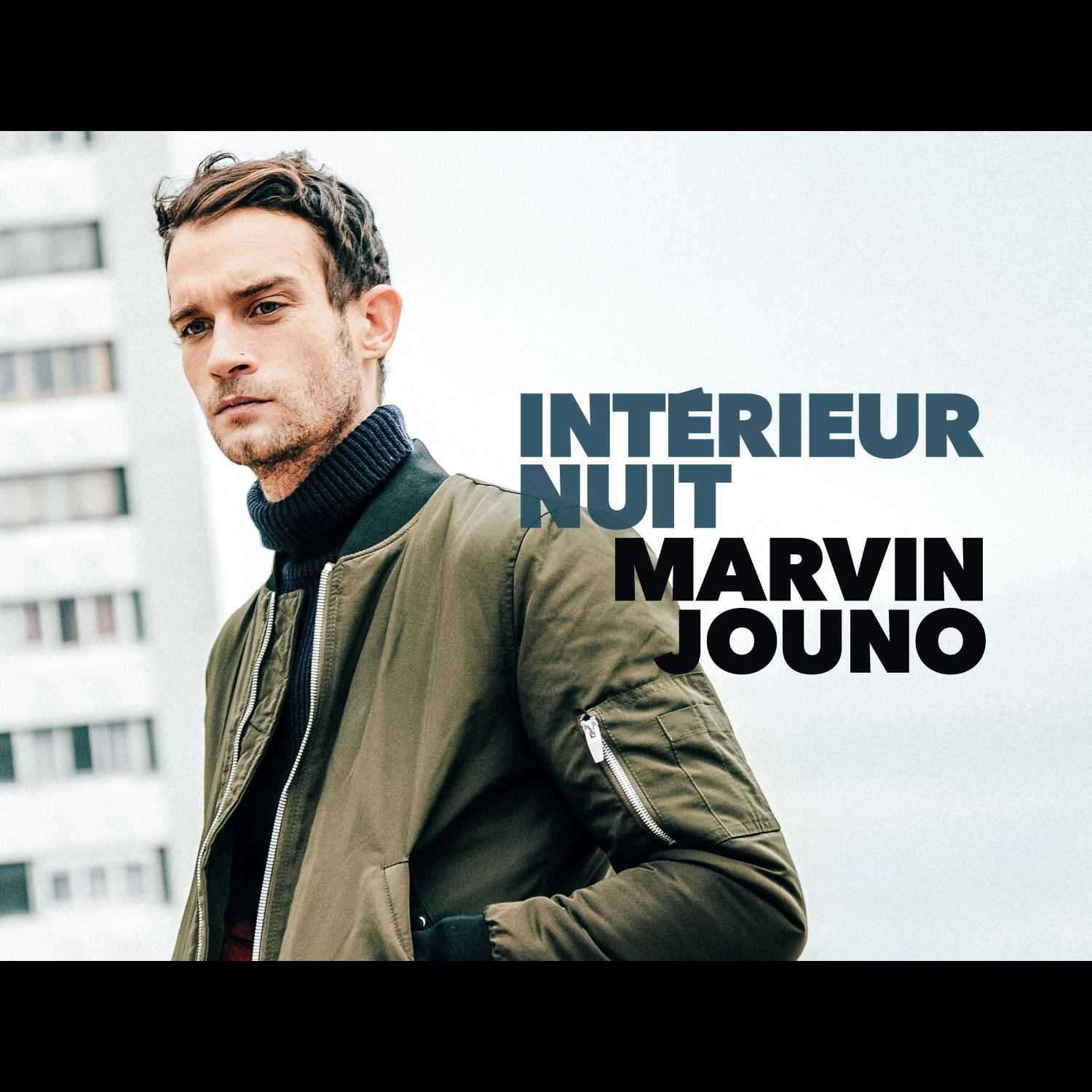 Couverture album Intérieur Nuit de Marvin Jouno Un Plan Simple Sony Music photo Elise Toïdé