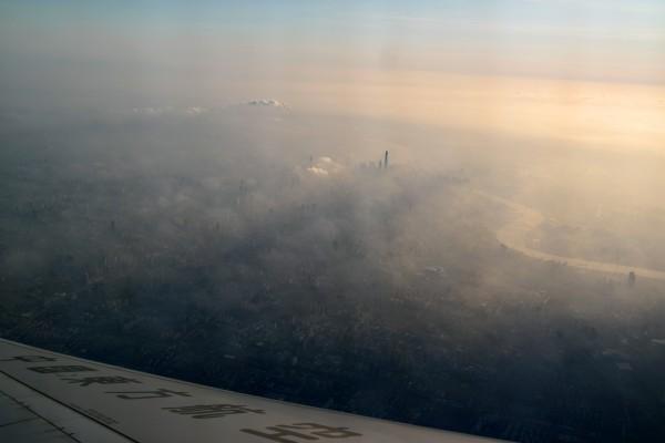 Shanghai vue du ciel chine avion voyage découverte vacances photo by Blog United States of Paris