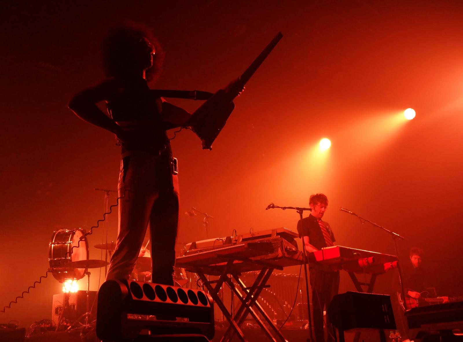 Groupe General Elektriks music band concert live Printemps de Bourges 2016 festival musique photo scène usofparis blog