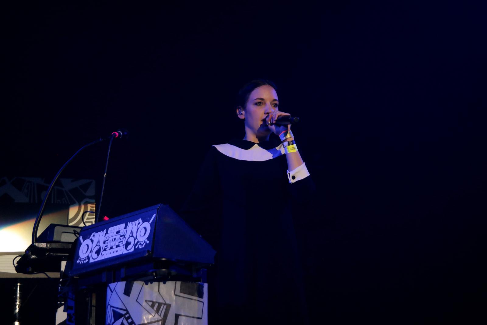 Jain concert live Printemps de bourges 2016 festival musique album zanaka tour photo scène United states of paris Blog