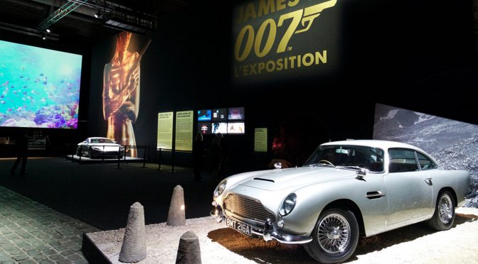 James Bond 007, l'exposition : Permis de kiffer à la Villette