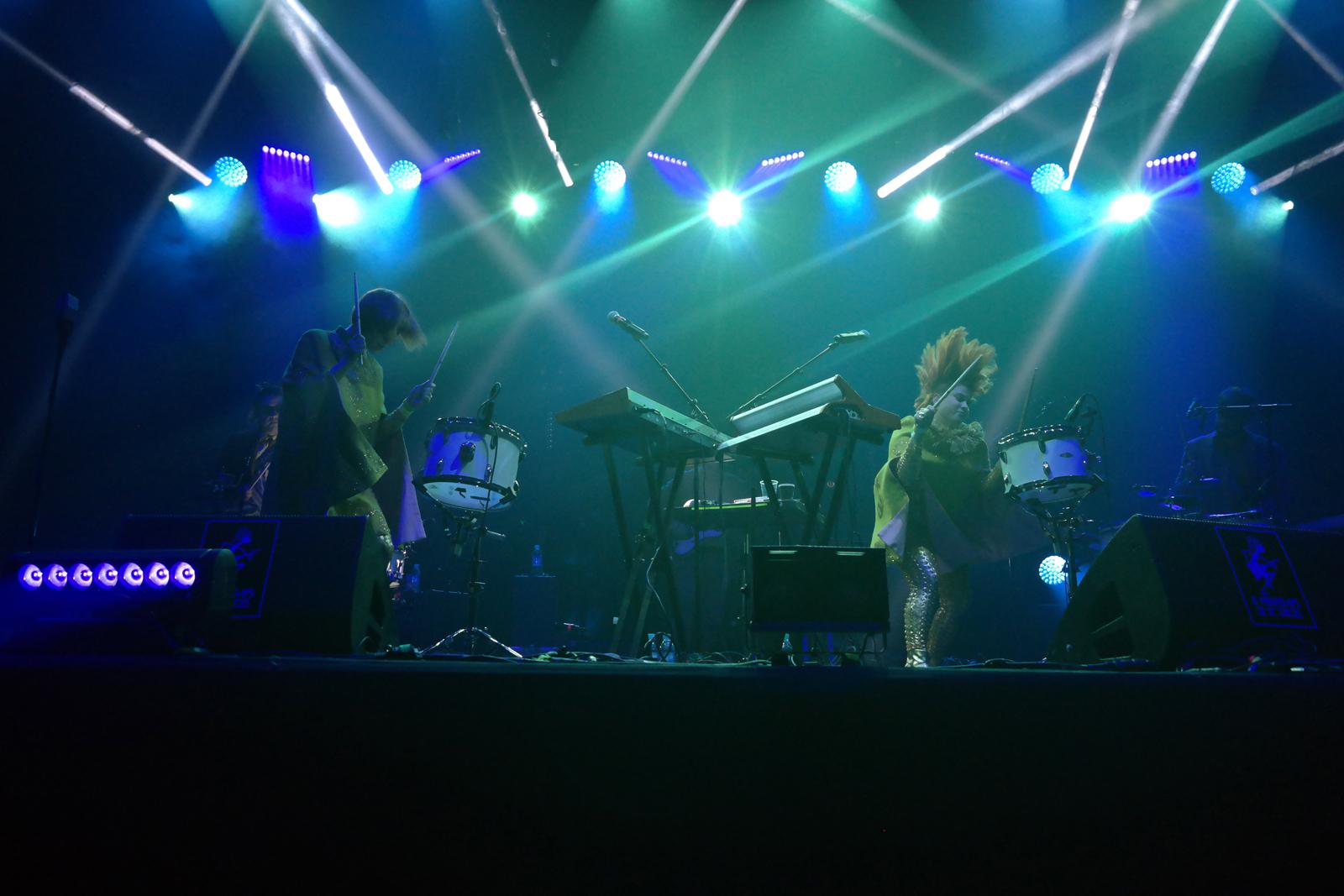 Lucius music band live concert Printemps de Bourges 2016 festival musique music stage photo usofparis blog
