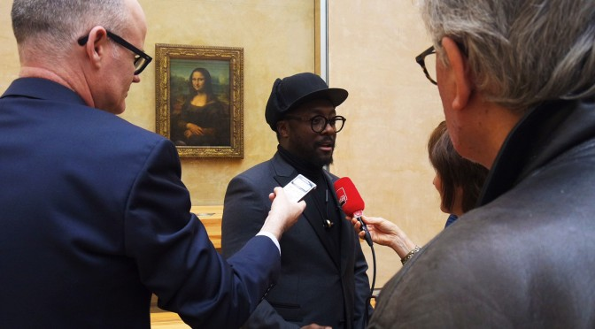 Mona Lisa Smile : le sourire de la Joconde by Will.i.am