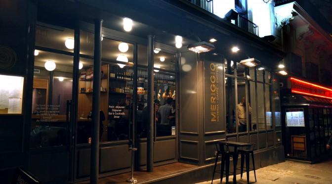 Meriggio : le spot food italien des Grands Boulevards