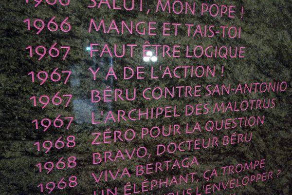 Objet Dard - Bertrand Lavier, 2013-2016