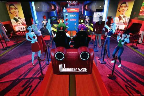 Partouche vr roller blaster Réalité virtuelle pasino casino oculus rift score jeu game expérience diverstissement photo by blog United states of Paris