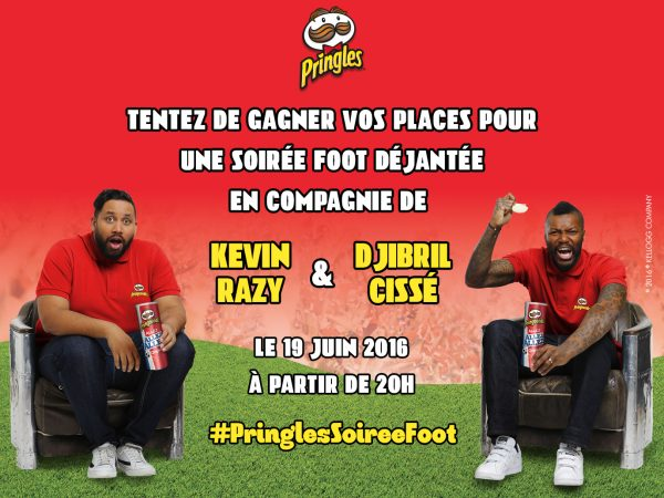 Pringles Djibril Cissé Kevin Razy football ballon PringlesSoiréefoot concours blog United states of Paris