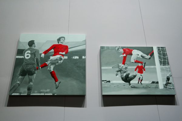 And Number One was Georgie Best - The Kidd s alright Chris Beas 2013 2008 exposition La Grande Galerie de Foot Foraine La Villette Paris Euro 2016