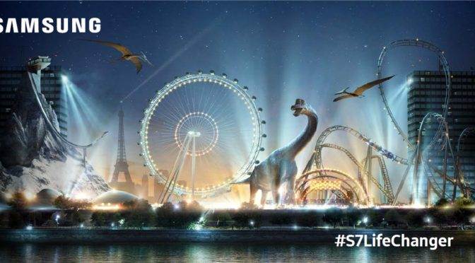 S7 Life Changer : 1er parc d'attractions VR by Samsung #Concours