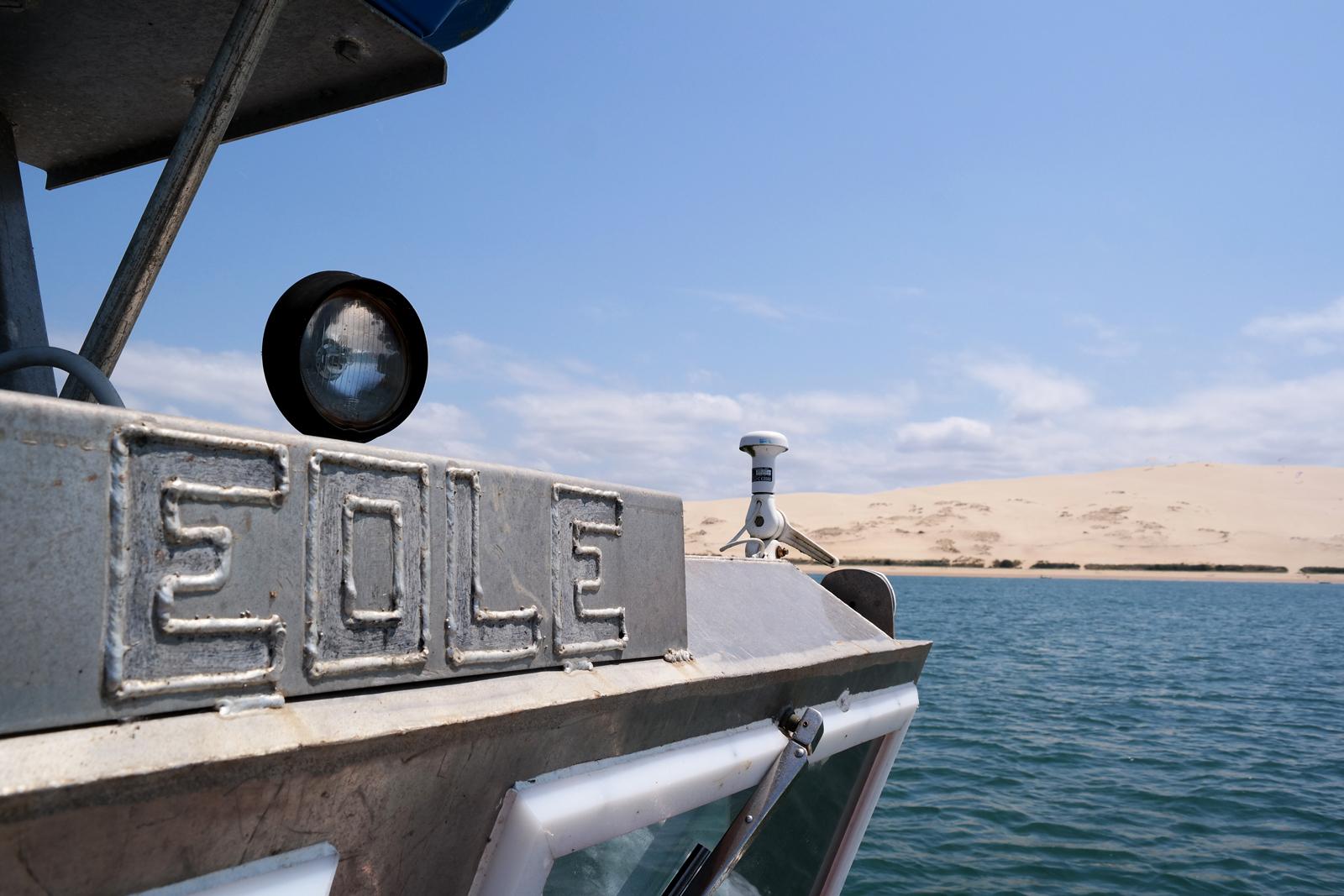 Bateau Eole Eric Dauges ostréiculteur Bassin d Arcachon vue sur la Dune du Pilat tourisme expérience sortie à la marée photo usofparis blog