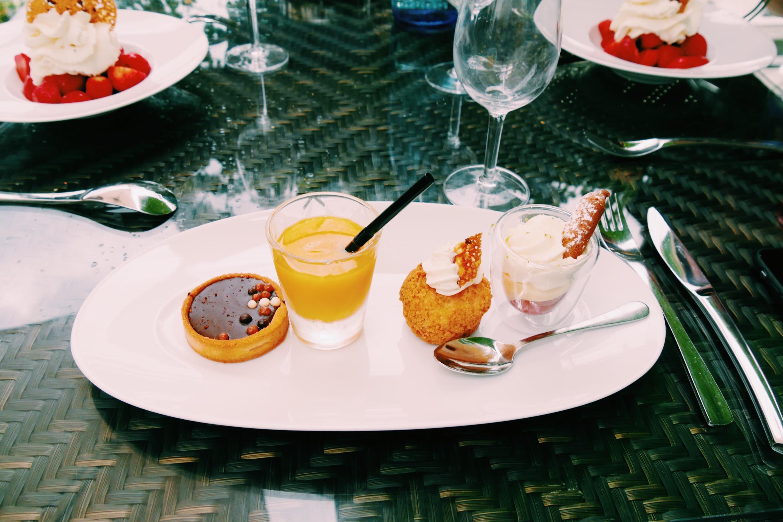 Assortiment de desserts par le Chef Pâtissier