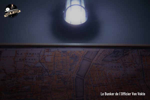 Game of room lyon escape game test avis critique villeurbanne bunker Officier Von Vokte Blog US of Paris
