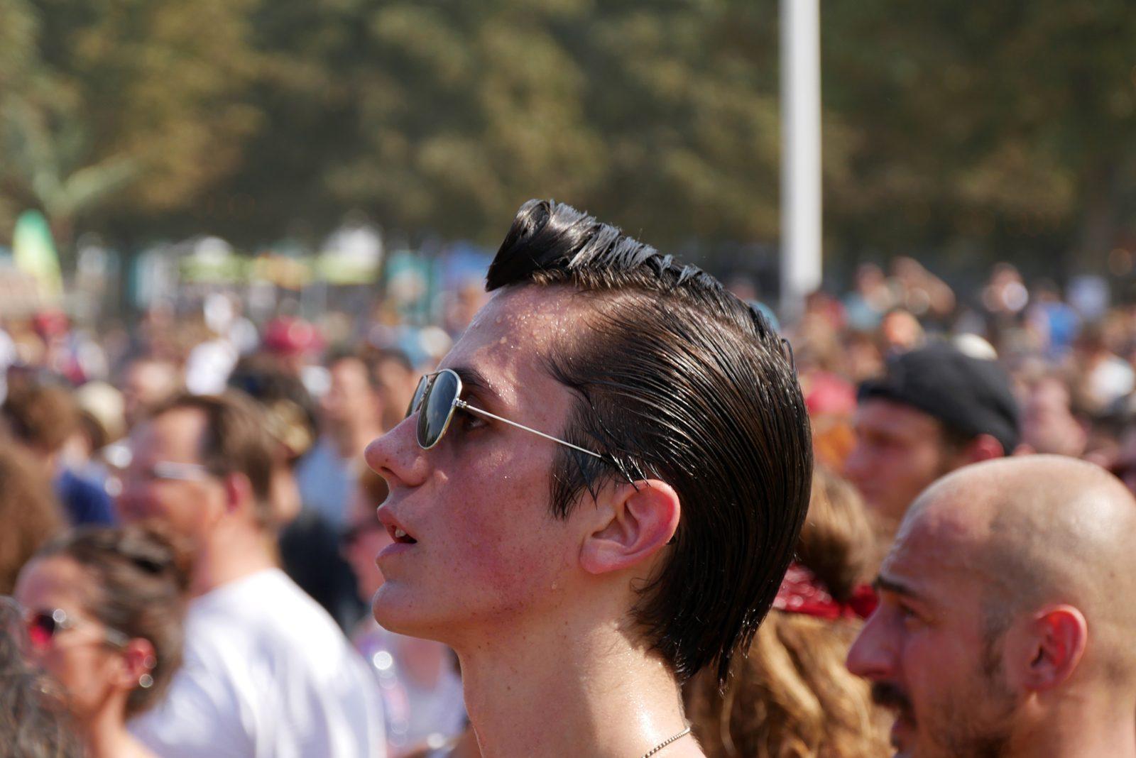 Rock en Seine 2016 festivalier gominé en sueur festival photo usofparis blog