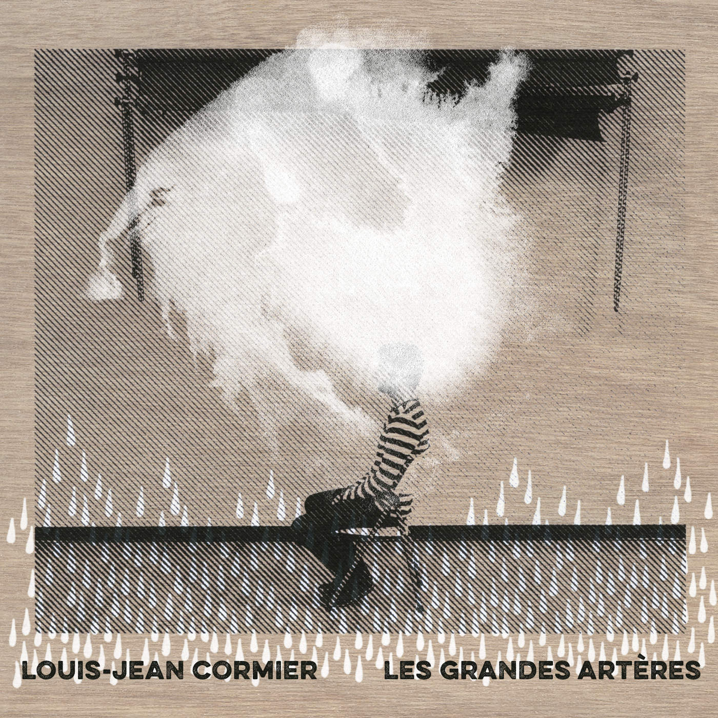 Louis jean Cormier album Les grandes artères interview Karkwa United States Of Paris
